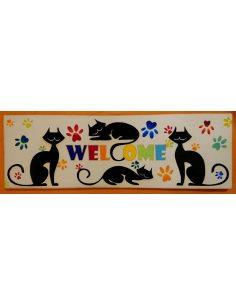 LESENA TABLICA VELIKA mačke