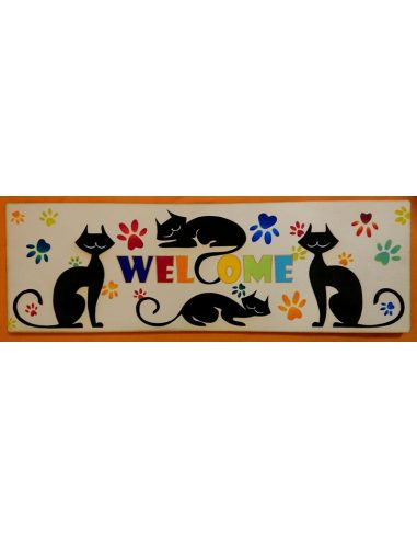 LESENA TABLICA mačke + barve