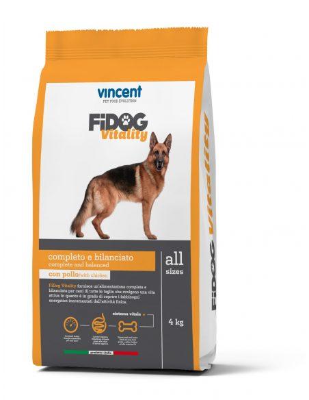 VINCENT FIDOG VITALITY za aktivne odrasle pse 4kg