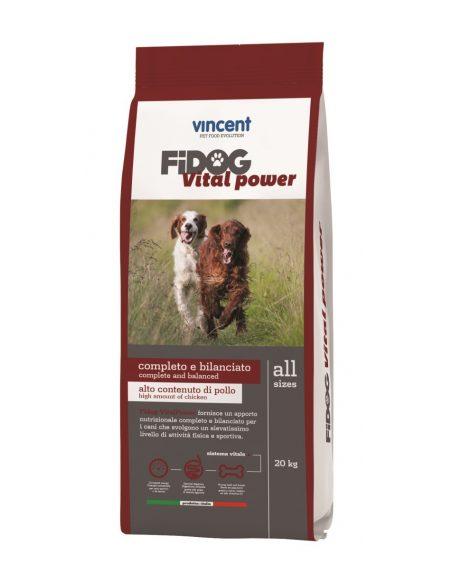 VINCENT FIDOG VITAL POWER za zelo aktivne pse 20kg